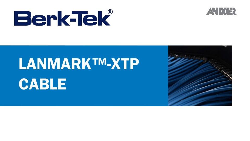 Berk-Tek Featured Technology | Anixter