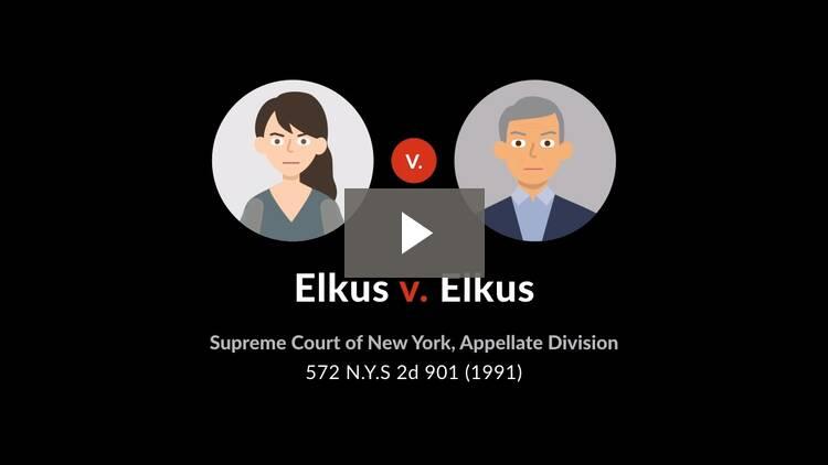 Elkus v. Elkus