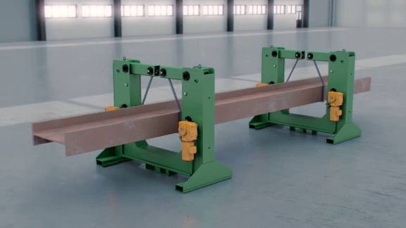 Beam Rotator | Turning Device for Welding | PeddiRotator