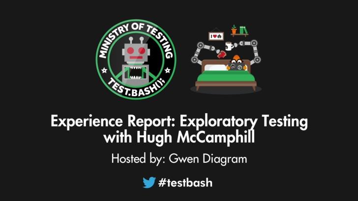 Experience Report: Exploratory Testing - Hugh McCamphill