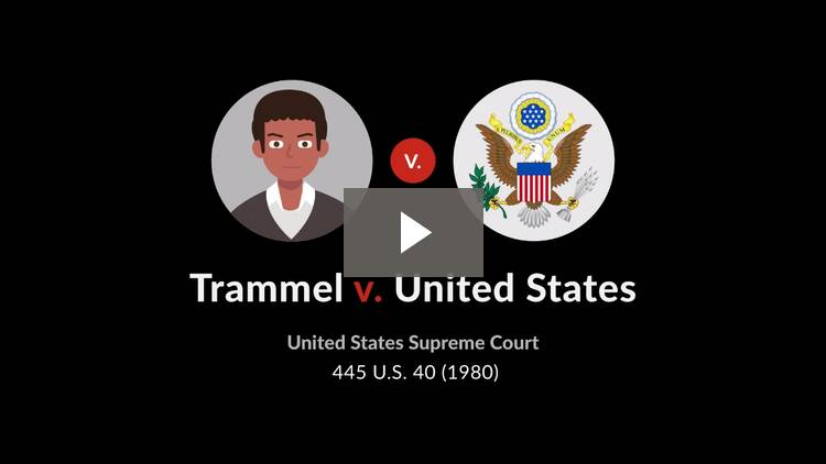 Trammel v. United States