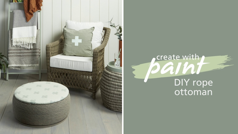 Habitat TV Video: Make your own outdoor ottoman