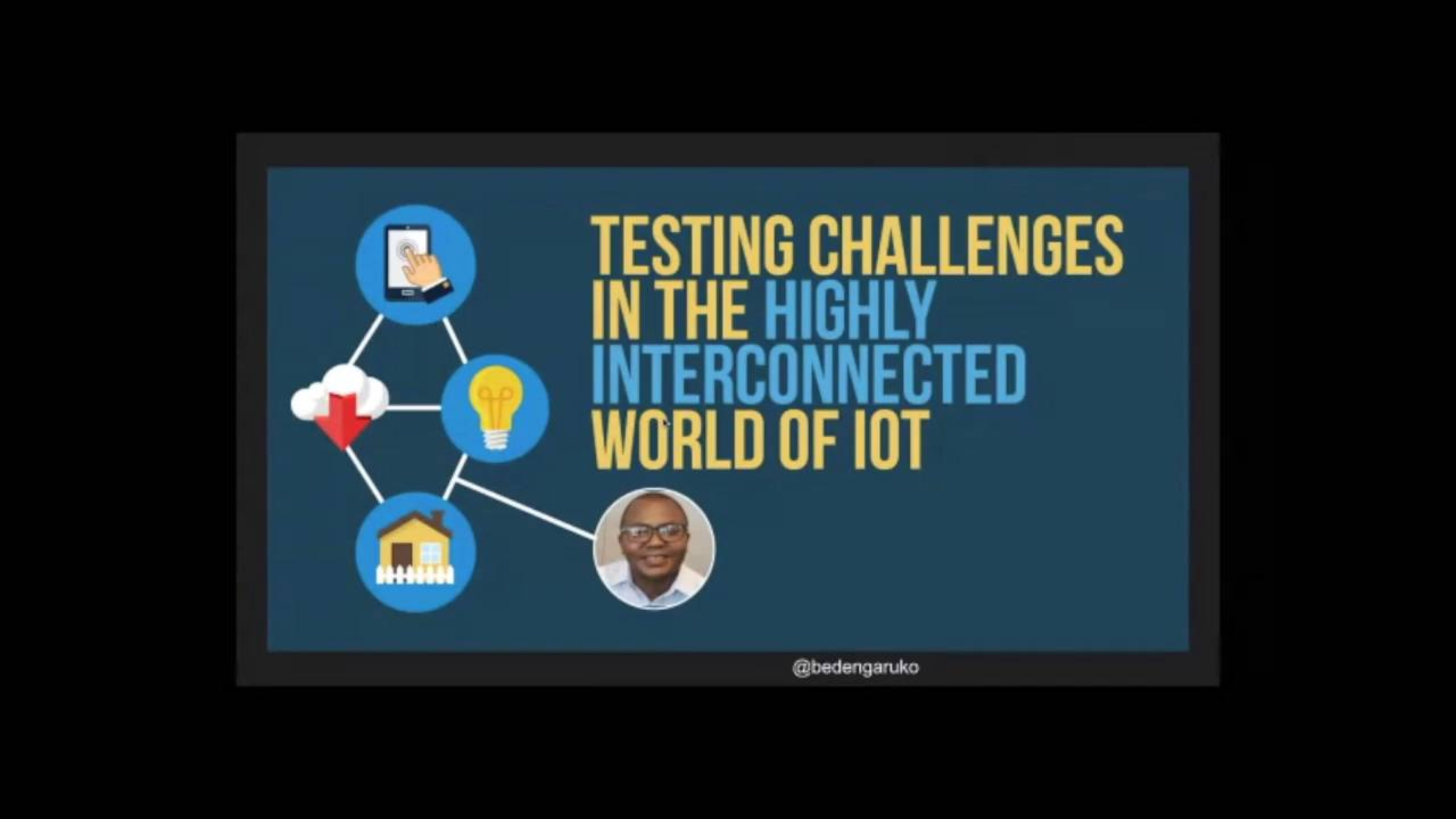 Testing Challenges in the Highly Interconnected World of IoT with Bede Ngaruko