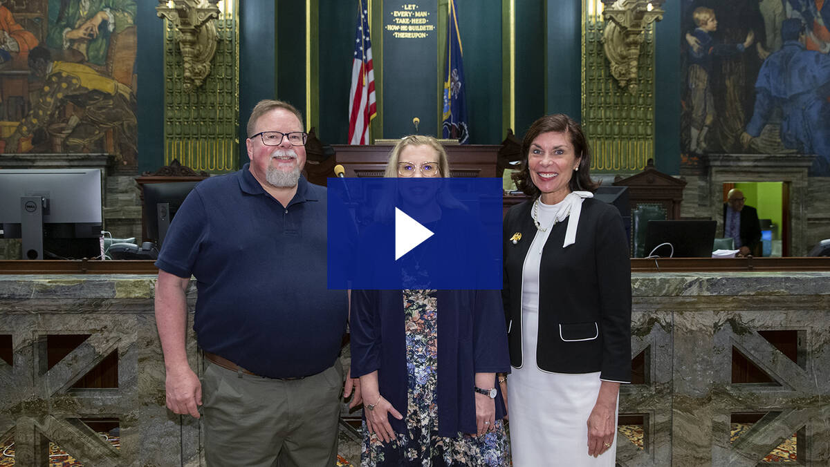 6/8/21 – Senate Guest Chaplain, Pastor Beth Holz