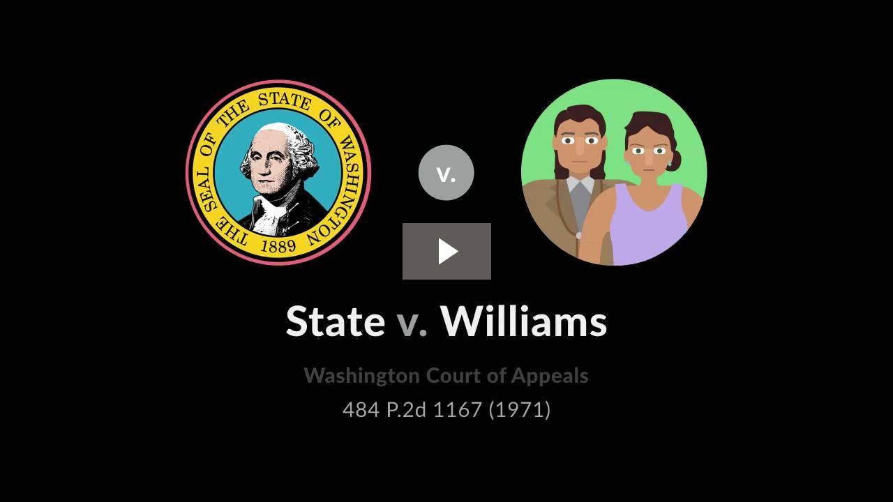 State v. Williams
