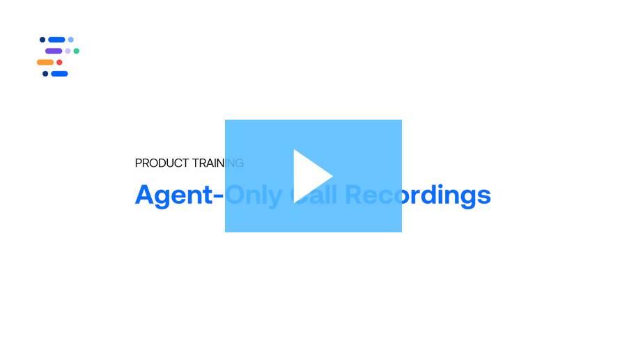 Agent-Only Call Recordings: ringDNA Product Training