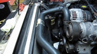Coolant Hose & Thermostat Kit Service On Discovery 2