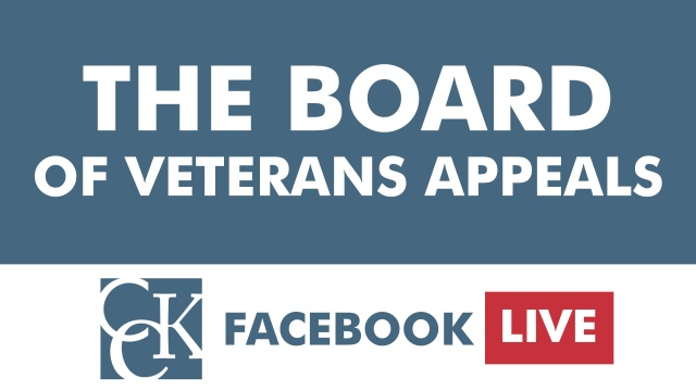 The Board of Veterans' Appeals Explained