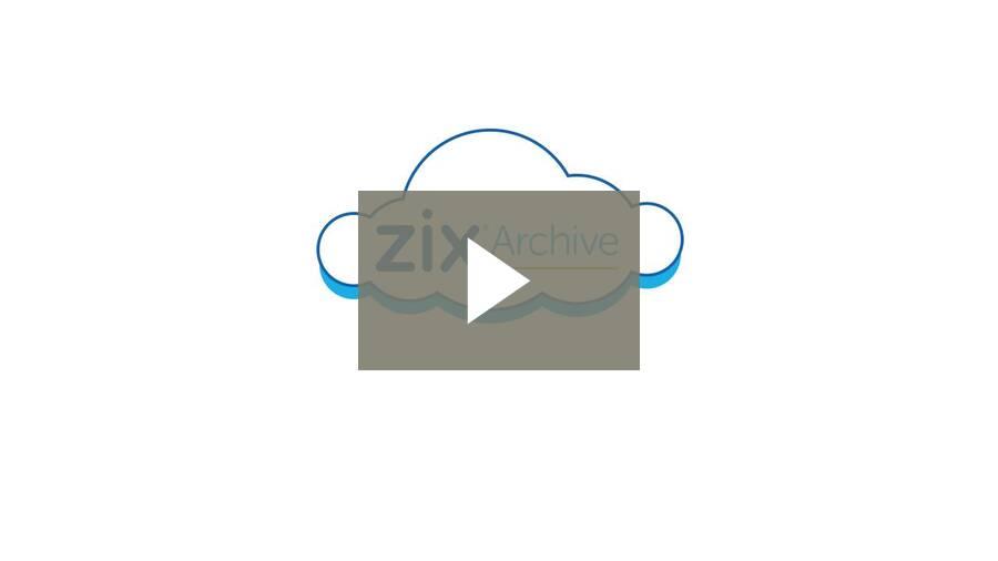 How ZixArchive Works