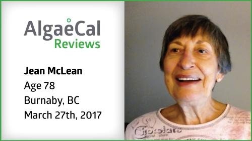 Testimonial thumbnail portrait of Jean McLean