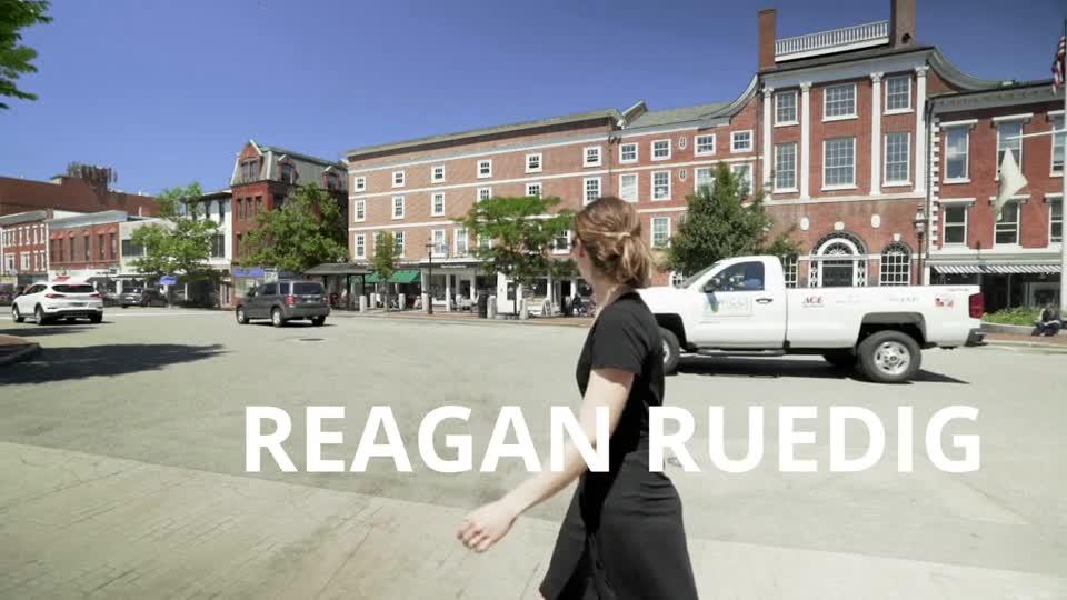 Reagan Ruedig is A Tiny Bit Huge
