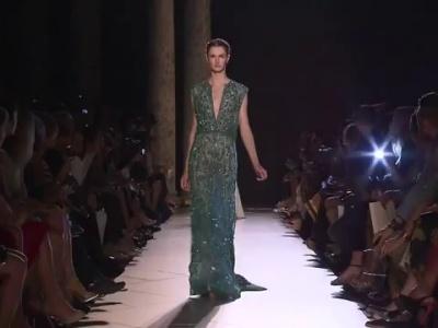 Haute couture show van Elie Saab - herfst- wintercollectie 2013