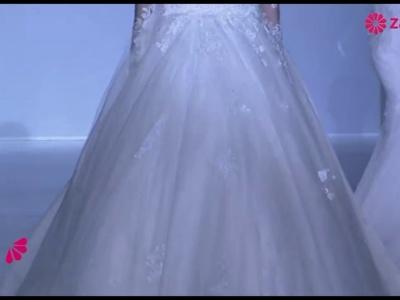 Brautkleider 2014 mit Spitzen-Dekolleté