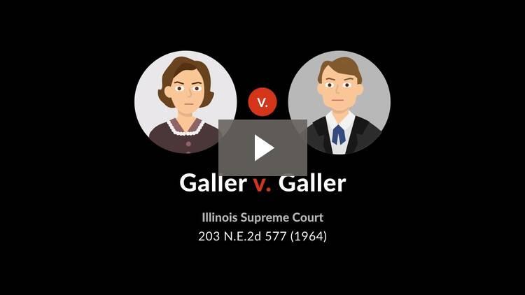 Galler v. Galler