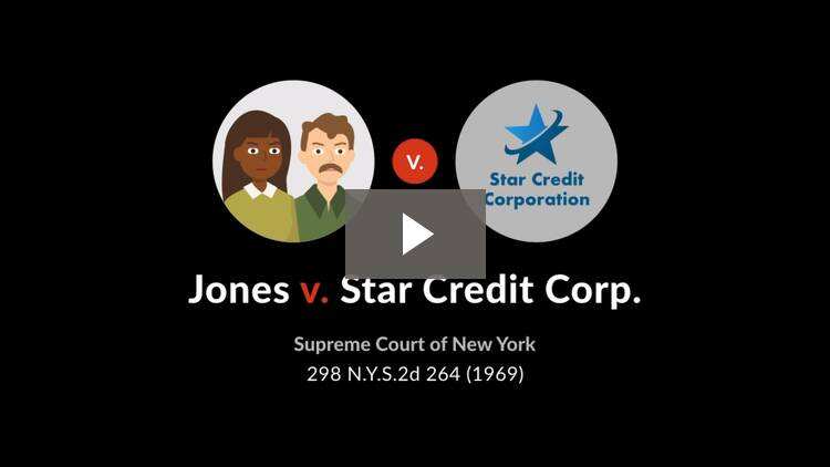 Jones v. Star Credit Corp.
