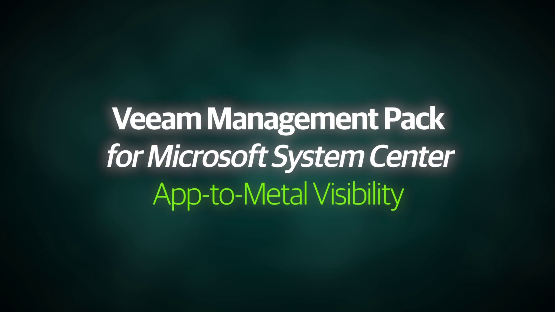 VMP v8 - Demo Video - App-to-Metal Visibility - EN