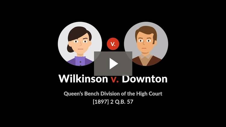 Wilkinson v. Downton