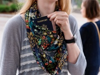 Video: Speakeasy Travel Scarf | Infinity Pocket Scarf