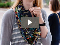 Video for Infinity Pocket Scarf