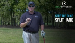 STOP the Slice Forever: Split Hand Drill