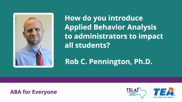 How do we introduce ABA to administrators?