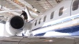 Traveling Bridge Fall Protection System - Aircraft Hangar Application
