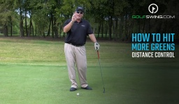 How To Hit More Greens: Distance Control Card