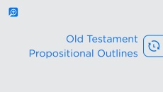 Old Testament Propositional Outlines