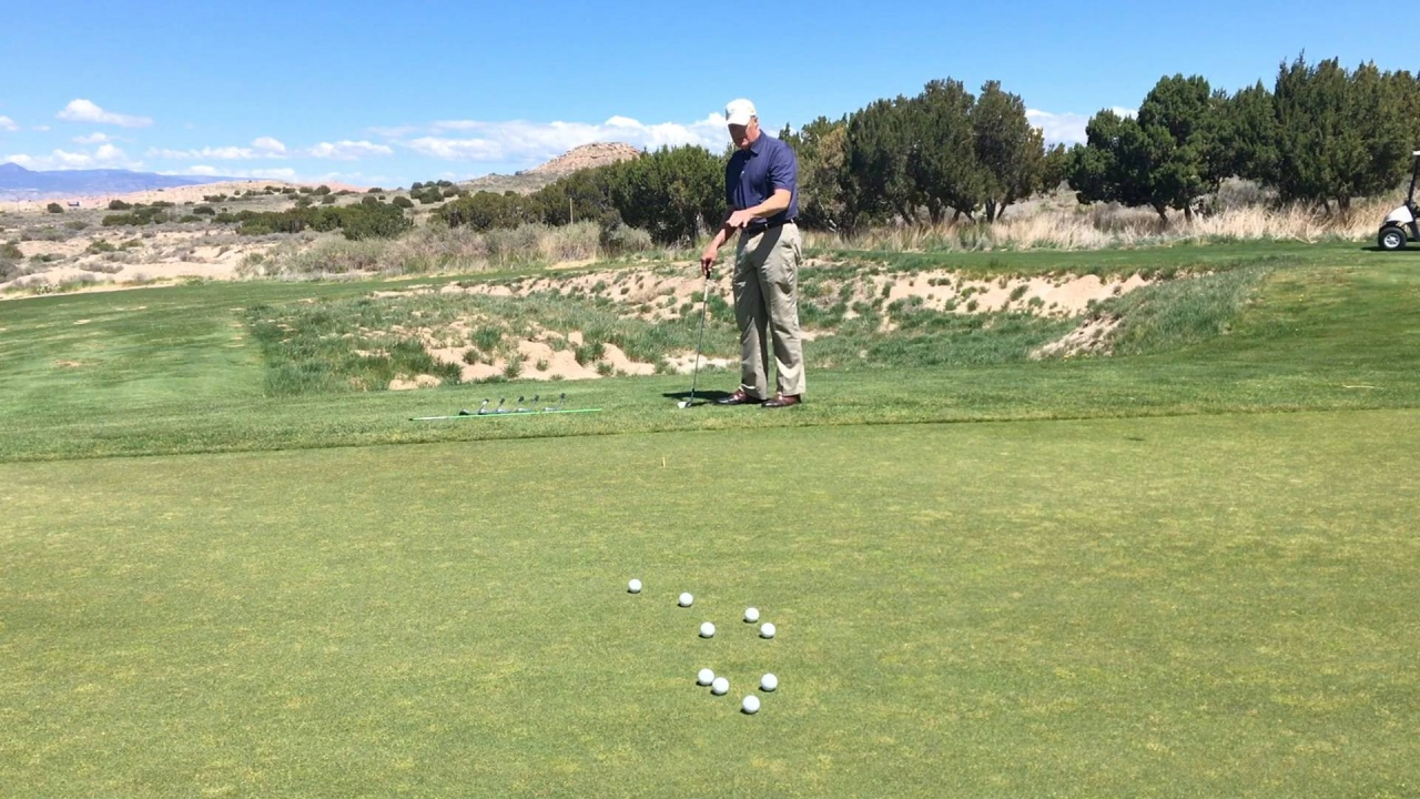 Tee to Tee Chipping Target Drill