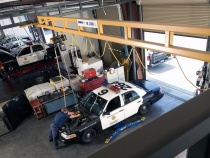 Police Vehicle Maintenance Application