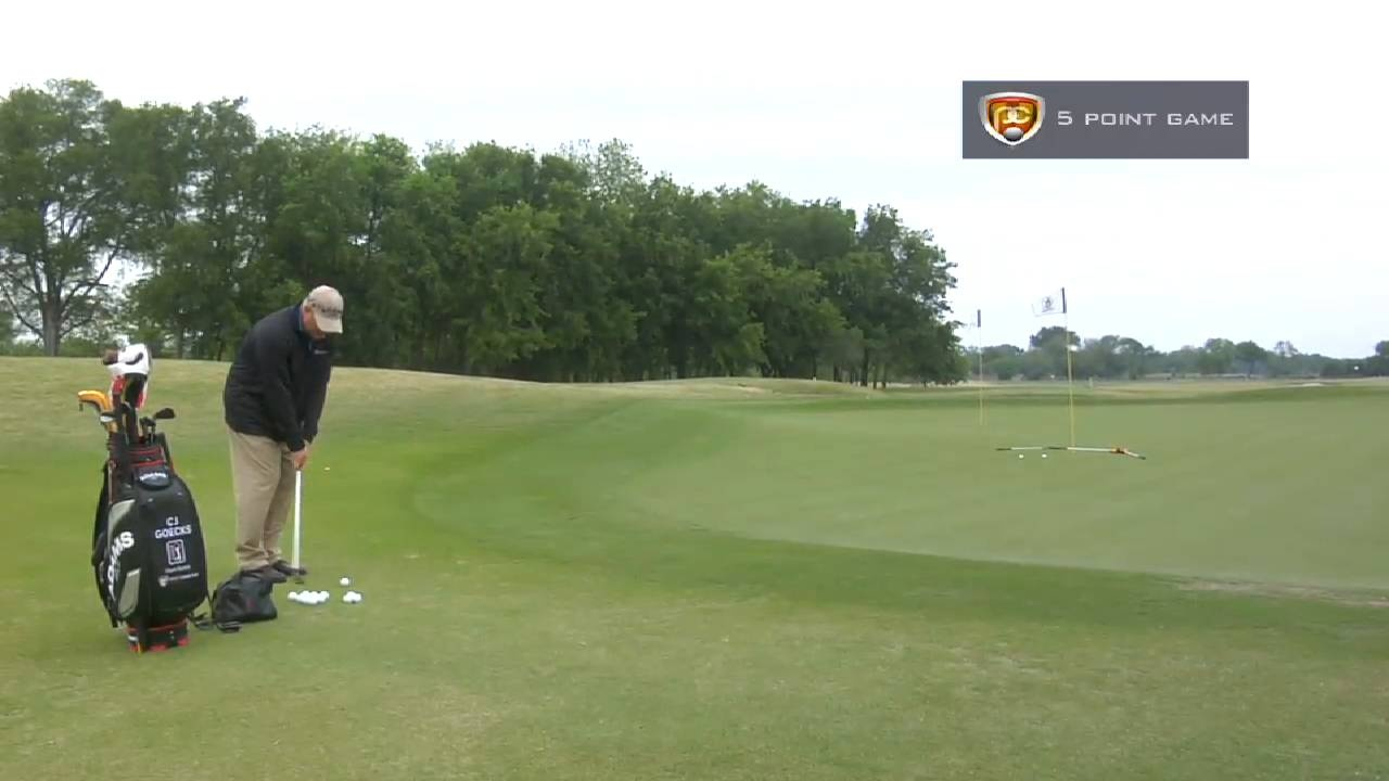 Breaking 100: 5 Point Chipping Game