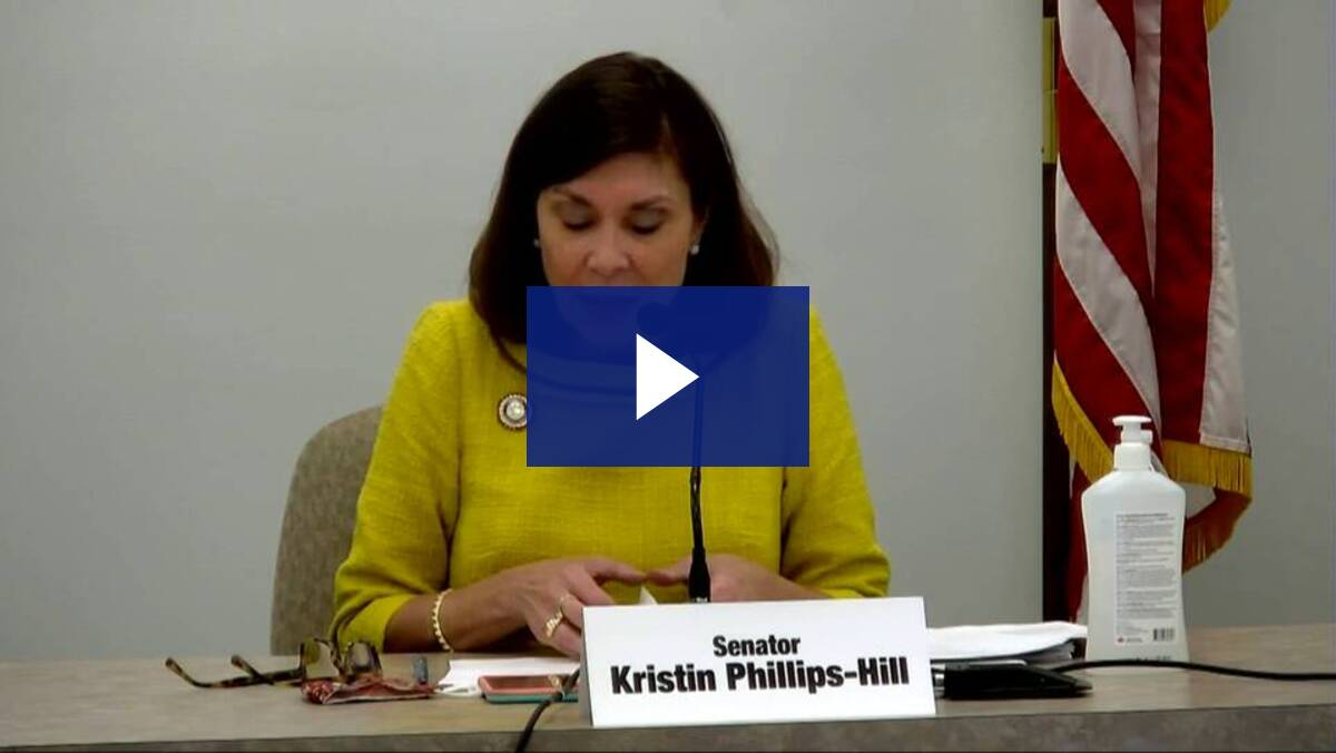 9/18/20 - Testimony on Limited Constitutional Convention