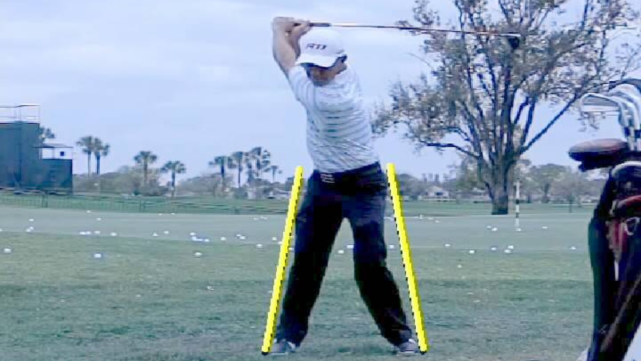 PGA Tour Player Nathan Green Swing Analysis - Hip Movement