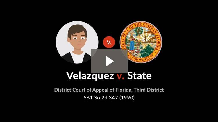 Velazquez v. State