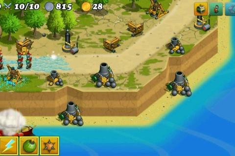Defense of Greece TD - an amazing tower defense game.