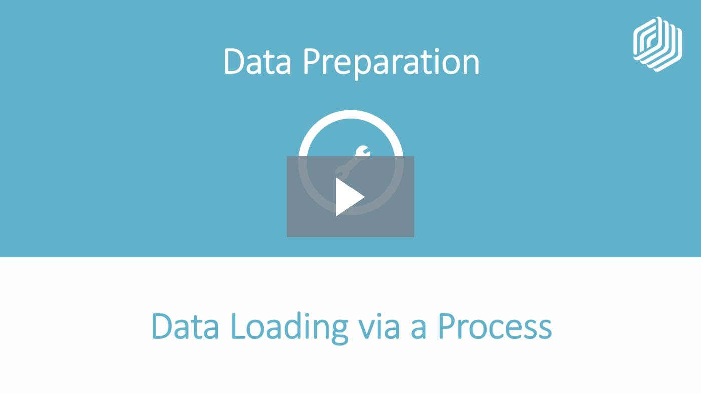 Loading Data via a Process
