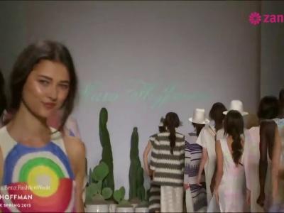 Mara Hoffman primavera 2015: Vestidos y conjuntos de fiesta con un aire casual y colores crudos... ¡Un must!