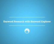 Keyword Research with Keyword Explorer