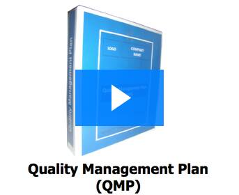 quality management plan system for construction works