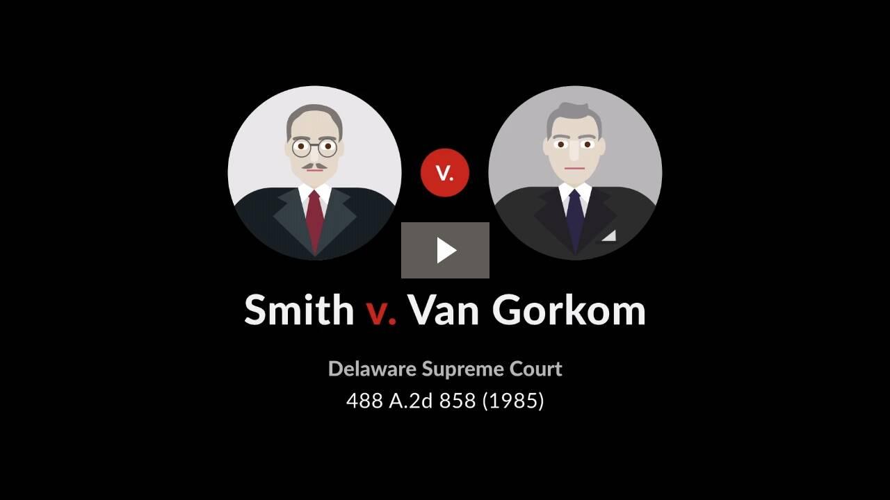 Smith v. Van Gorkom