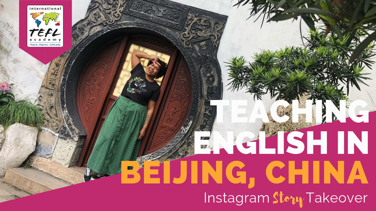 Day in the Life Teaching English in Beijing, China with Aleese Horne