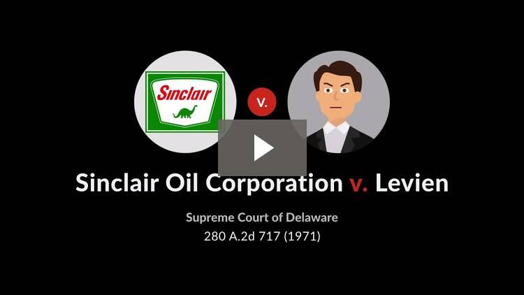Sinclair Oil Corp. v. Levien