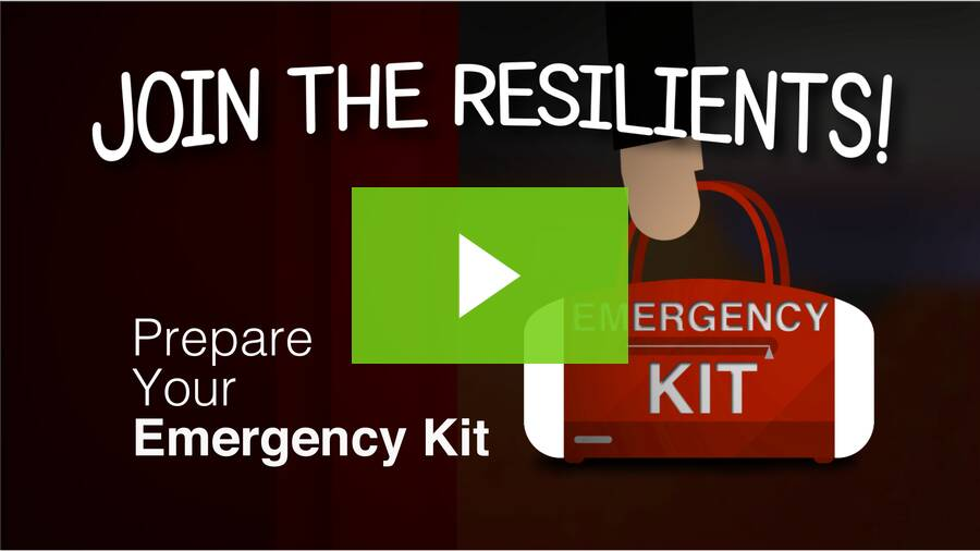 Ep 2. The Resilients pack an emergency kit