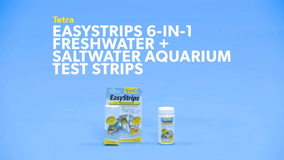 Tetra Easystrips 6 In 1 Freshwater R Aquarium Test Strips 25 Count Chewy