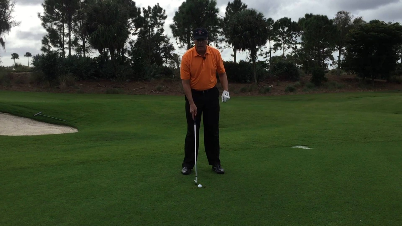 How to Hit a Ball from a Divot