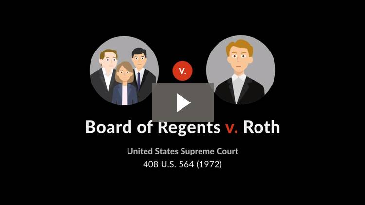 Board of Regents of State Colleges v. Roth