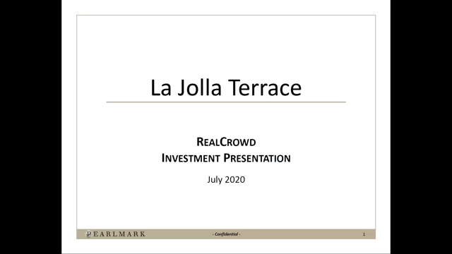 Investment Video - La Jolla Terrace