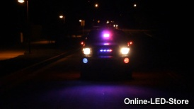 Police/Undercover POV Vehicle LED Warning Lights Impressive Setup on 2011 Toyota Tacoma