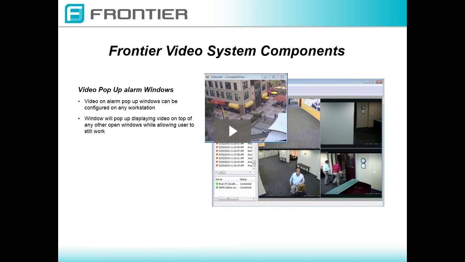 Introducing Frontier Video