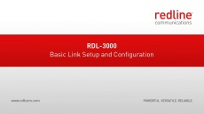 RDL-3000 Basic Link Configuration